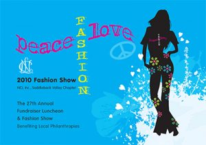 Philanthropy and Charity Fashion Show Flyer