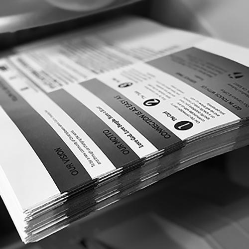 Printex Printing and Graphics Black and White Printing