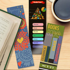 Childrens Bookmarks With Pictures, Designs, and a Theme