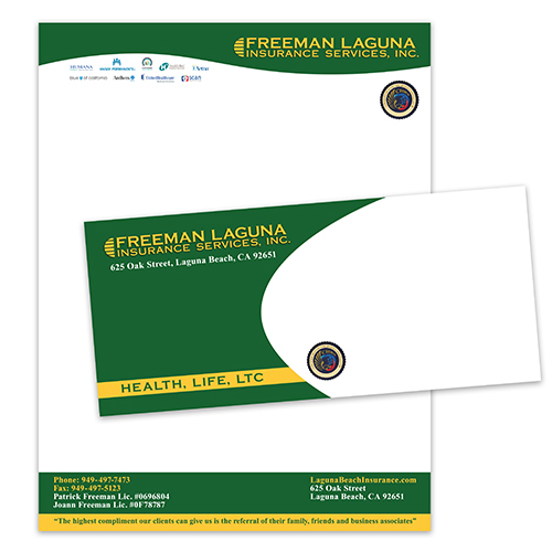 Insurance Services Envelope Letterhead