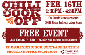 crossline church chili cook off vinyl banner
