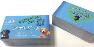 Printex Printing and Graphics QR Code Business Cards