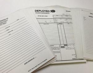 Printex Printing and Graphics NCR forms