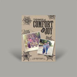 Western Country Boho Holiday Card