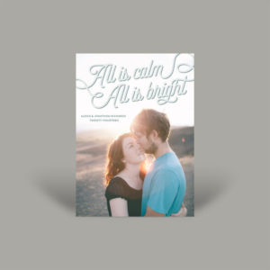 Airy and Bright Portrait Holiday Card