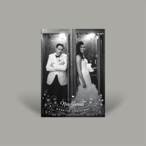 Vintage Wedding Holiday Card