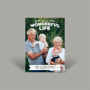 Grandparents and Grandchildren Holiday Card