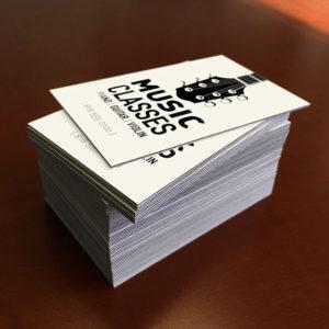 Printex Printing and Graphics Large Edge Business Cards