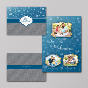 Jewish Star Holiday Photo Cards