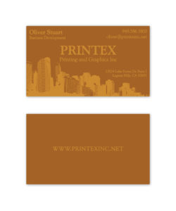 City themed business card design