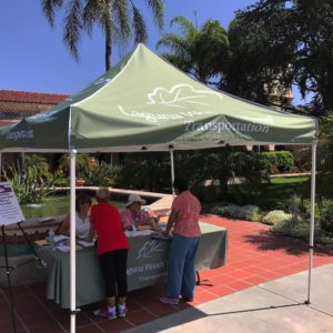 Custom printed pop up tents are key event materials.