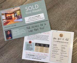 Orange County Real estate post card
