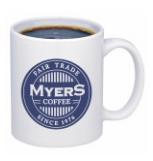 Branded coffeee mugs
