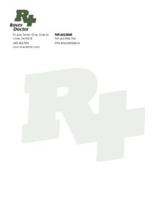 Doctor and medical office letterheads near me