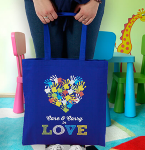 custom printed totes perfect for trade shows