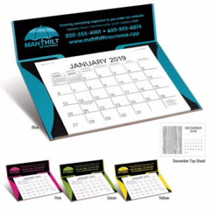 desktop Notepad calendars