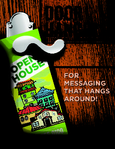 Door Knob Advertisement