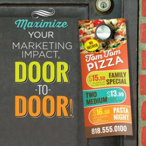Door Placard Advertisment