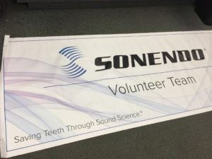 Custom Printed Event Banner.