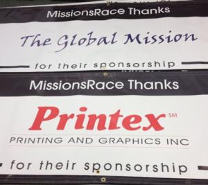Sponsorship Banner Fundraising Event