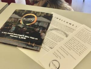 Customprinted church booklet