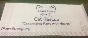 Custom Printed Cat Rescue Banner