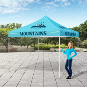 Custom Printed Large Outdoor Event Tents in Orange County