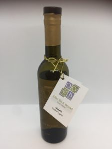 olive oil and wine bottle hang tags