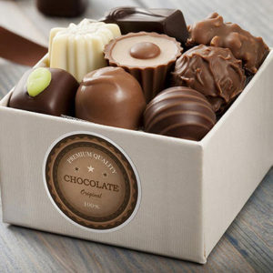 Custom Printed Labels For Box Of Chocolates
