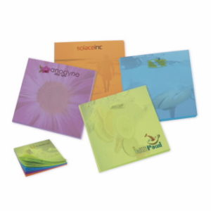 Purple Orange Blue Green Sticky Notes