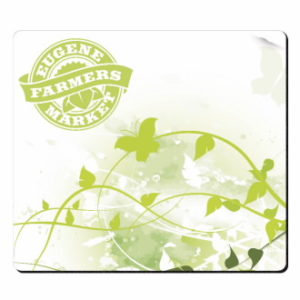 Butterfly and Vine Mousepad