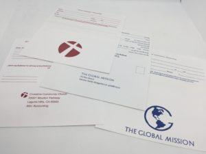 Church Tithing Remittance Envelopes